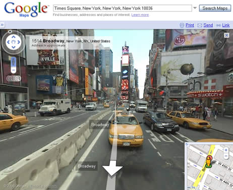 Google Maps' Street View